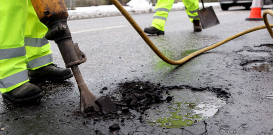 approved pothole repair company Stirling