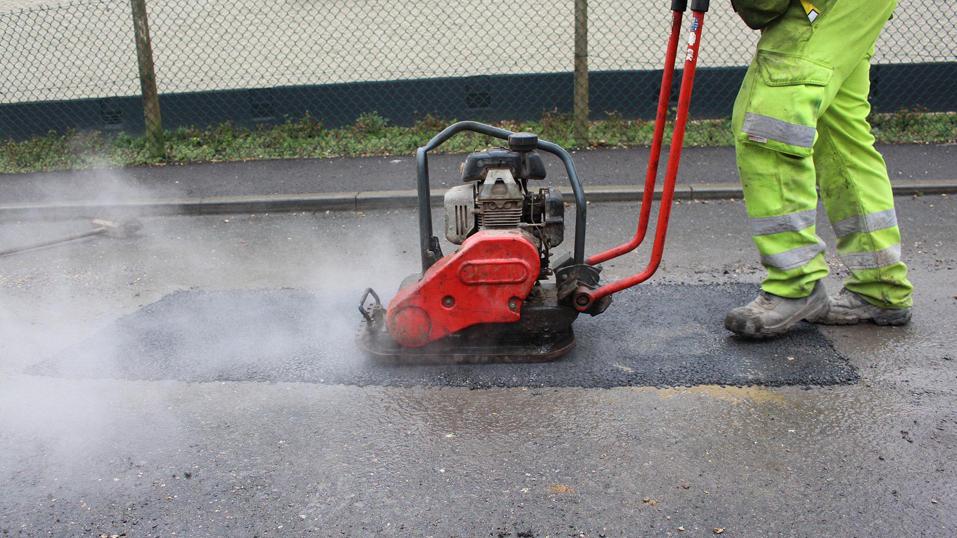 price of pothole repair Buckland