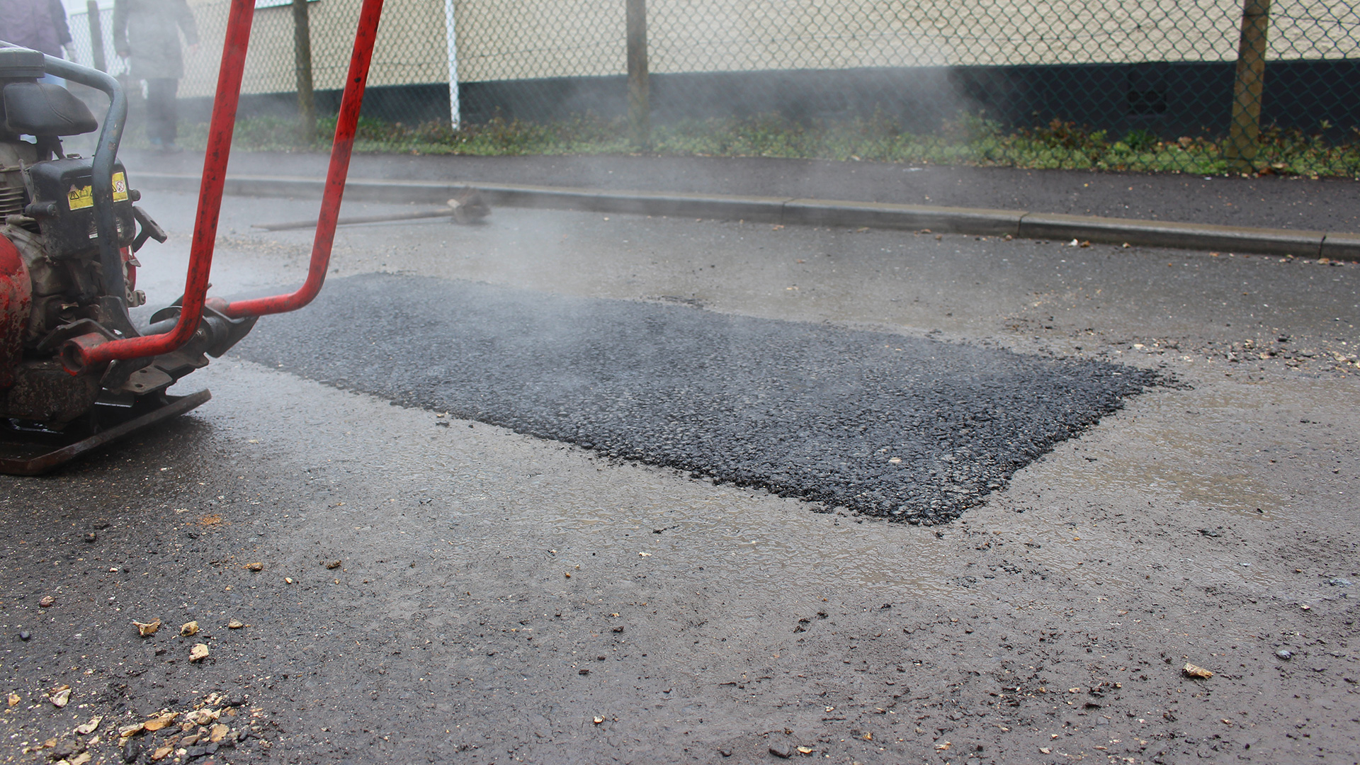 cost of pothole repairs Buckland