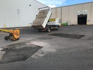 Pothole Repairs in Buckland