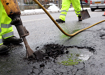 commercial pothole repair company the UK