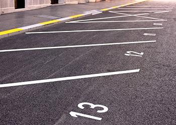 line marking Lewes