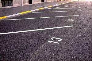 parking line marking Lewes