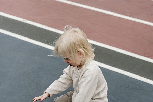 school playground line marking Brockley